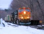 BNSF 4520 NS Train 214