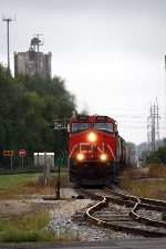 CN 2592, northbound CN train A43171-10
