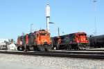 IC 9573 and CN 2127 at Grand Yard