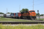 BNSF 9392, inbound CN train L56491-28