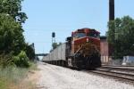 BNSF 4407, eastbound NS 240