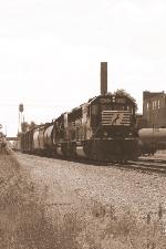 NS 6670, eastbound NS D27
