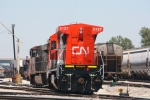 CN 2127, heading to the diesel pit along with A43171-02's consist