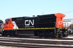 CN 2127 at the CN Decatur Yard