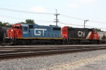 GTW 5847 and IC 9605, Decatur Yard units