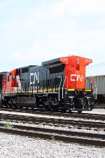 CN 2114, in the CN Decatur Yard