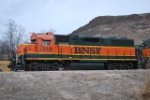 BNSF 2216 Working The Golden Yard