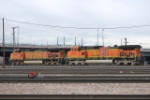 BNSF 4603 & BNSF 4111 Moving Into The Yard