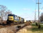 CSX 7569 at Morgantown