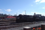 NS 7610 & 8770 Bring Up The Rear Of Light Locomotive Movement