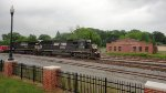 NS 6708 and 8820 lead container train southbound