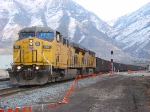 UNION PACIFIC'S DENVER-SALT LAKE CITY MANIFEST FEBRUARY 28,2010 PROVO,UTAH.