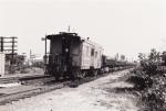 Empty ballast train heads home