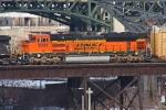 BNSF 9341 on NS 309