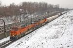 BNSF 7404 on NS 22K