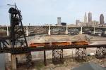 BNSF 7539 on NS 22K