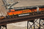 BNSF 7617 on NS 22K
