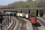BNSF 7639 on NS 22K