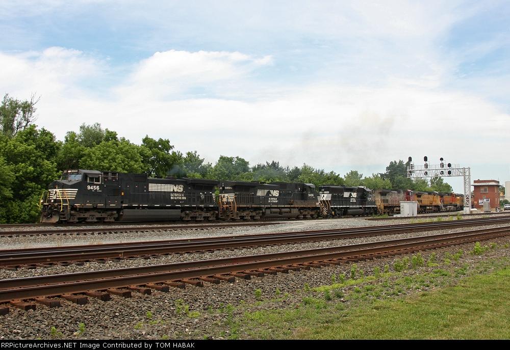 NS 9456 on NS 15N