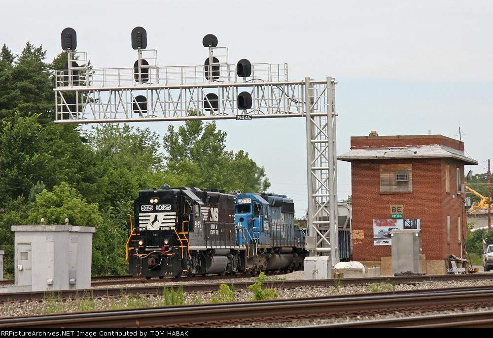 NS 5025 on NS 145