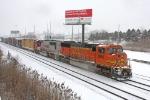 BNSF 8256 on NS 15N