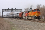 BNSF 4817 on NS 68Q