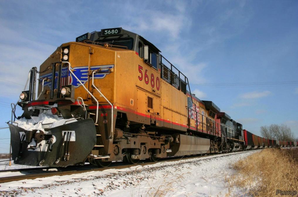 Westbound MNA Empty Coal Train