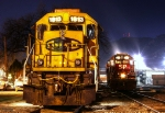 BNSF and UP Locomotives