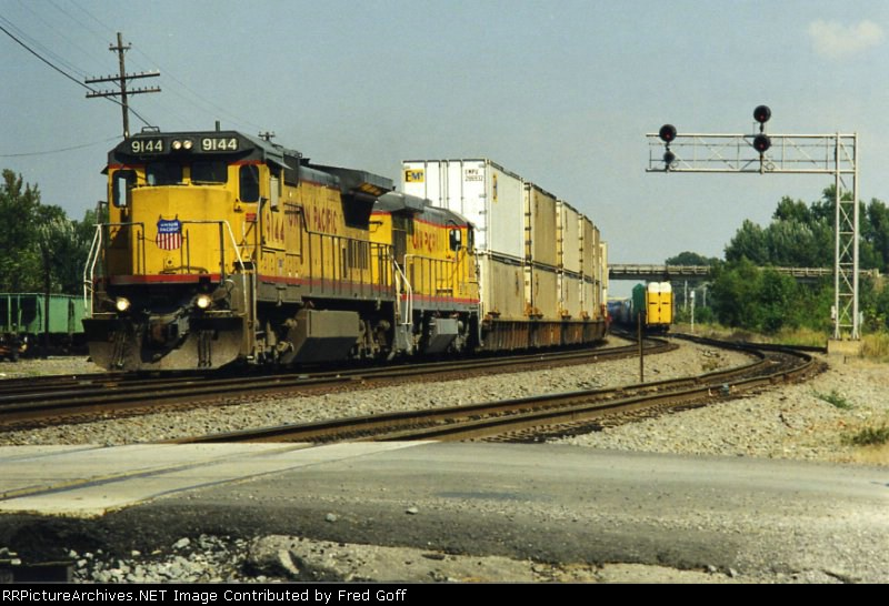 UP 9144 SOUTH
