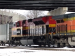 KCS EMD SD70ACe 4127