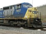 CSXT GE C40-8W 7817
