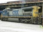 CSXT GE C44-9W 9052