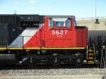 CN EMD SD75I 5687