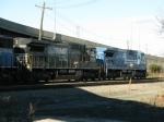 NS GE C40-8's 8305 & 8708