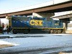 CSXT EMD GP40-2 6210