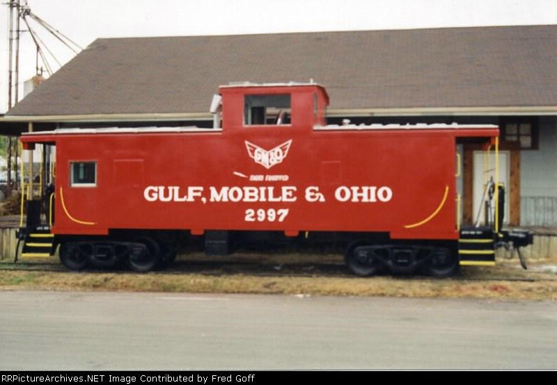 GM&O 2997 CABOOSE