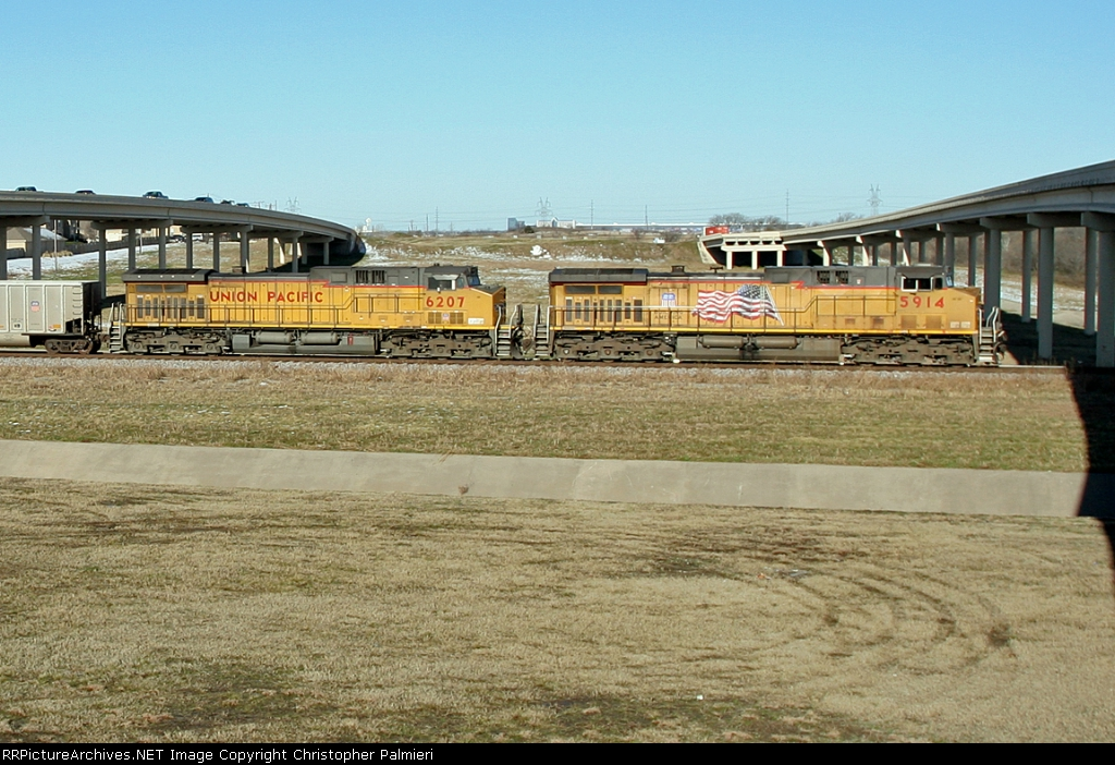UP 5914 and UP 6207