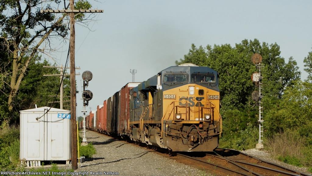 CSX 5404 ES44DC