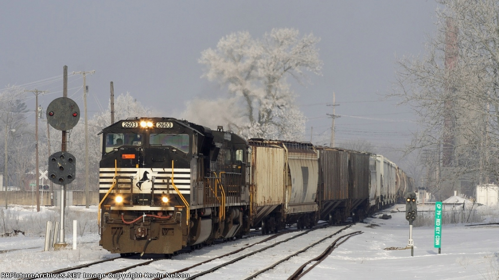 NS 2603 SD70M