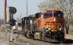 BNSF 6214 ES44AC