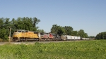 UP 4396 SD70M