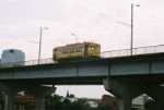 Streetcar continues down the Main Street Bridge