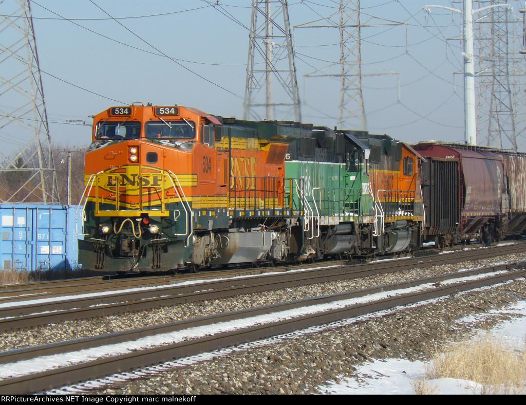 BNSF 534