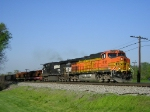 BNSF 4195 On NS 196 Northbound On The CSX