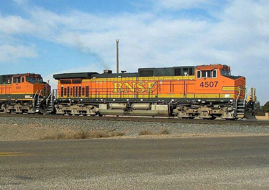 BNSF 4507