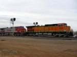 BNSF 5268 and 712