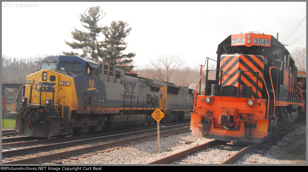 CSX 99 and WE 3049