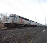 NJT 4207 NJT 4007 Train X233