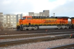 BNSF 6329 still looking new but not as clean and new when I photographed her Sept 18, 09 in Gillette, Wyoming.