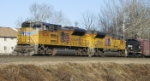 NS 38G with UP SD70ACe  8524, 8482 & SW1001 2102